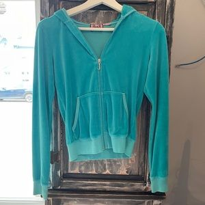 Juicy Couture zip-up, size S